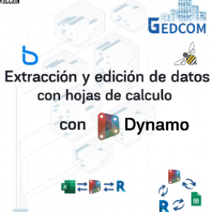 Extraccion y edicion de datos con hojas de calculo con Dynamo